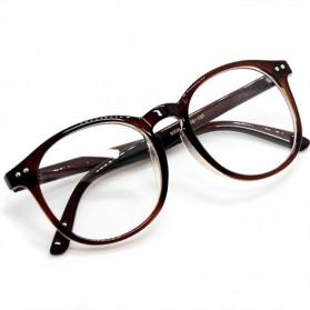 Kacamata Full Frame Pria & Wanita - Brown - 2