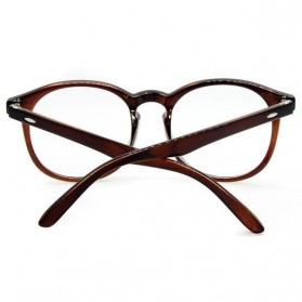 Kacamata Full Frame Pria & Wanita - Brown - 3