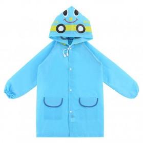 Jas Hujan Anak Model Kartun - NBD6T80243 - Blue