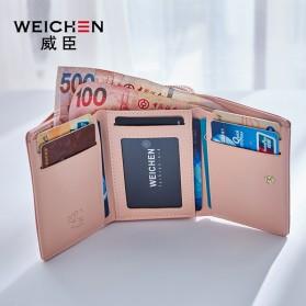 Dompet Wanita Clutch Zipper Coin Wallet - Pink - 2