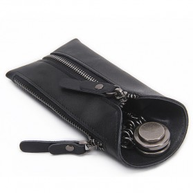 CONTACTS Dompet Gantungan Kunci Mobil Genuine Leather - 2012 - Black
