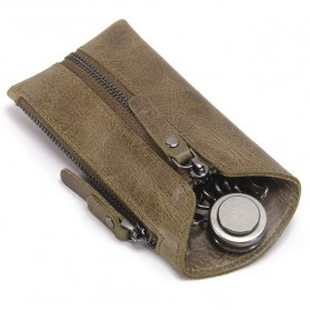 CONTACTS Dompet Gantungan Kunci Mobil Genuine Leather - 2012 - Brown