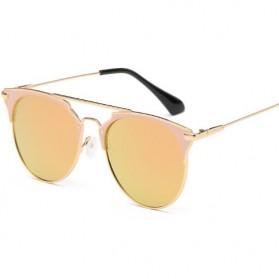 Kacamata Wanita Sunglasses Anti UV - Golden - 2