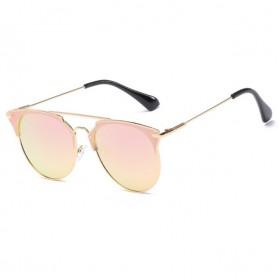 Kacamata Wanita Sunglasses Anti UV - Golden - 5
