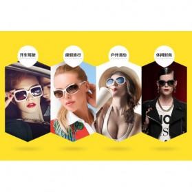 Kacamata Wanita Sunglasses Anti UV - Golden - 7
