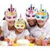 Set Topeng Masquerade Model Unicorn 12 PCS - Multi-Color