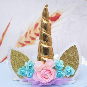 Bandana Unicorn Headband - Multi-Color