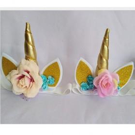 Bandana Unicorn Headband - Multi-Color - 3