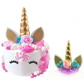 Bandana Unicorn Headband - Multi-Color - 4