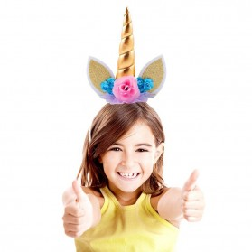 Bandana Unicorn Headband - Multi-Color - 5