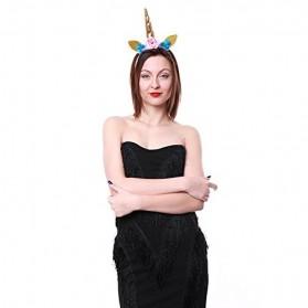 Bandana Unicorn Headband - Multi-Color - 6