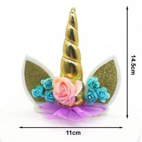 Bandana Unicorn Headband - Multi-Color - 7