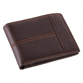 COWATHER Dompet Kulit Pria Masculine Style - Coffee