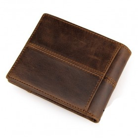 COWATHER Dompet Kulit Pria Masculine Style - Brown