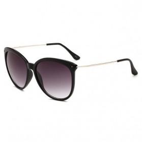 Kacamata Wanita Fashion Sunglasses Anti UV - Black