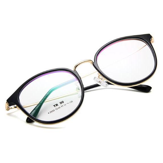 Frame Kacamata Wanita Fashion Glasses - Black - JakartaNotebook.com 49553ebf0b
