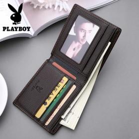 Playboy Dompet Pria Model Bifold Wallet - PB-001 - Black - 3