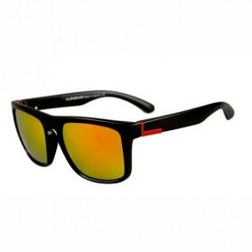 Kacamata D Frame Vintage - Black/Red