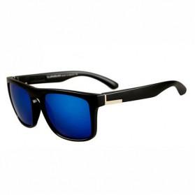 Kacamata D Frame Vintage - Black/Blue