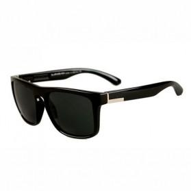 Kacamata D Frame Vintage - Midnight Black