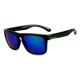Kacamata D Frame Vintage - Black/Green