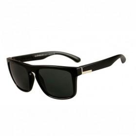 Kacamata D Frame Vintage - Black/Gray