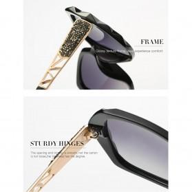 Kacamata Wanita Korean Sunglasses Polarized Anti UV - Blue/Gray - 2