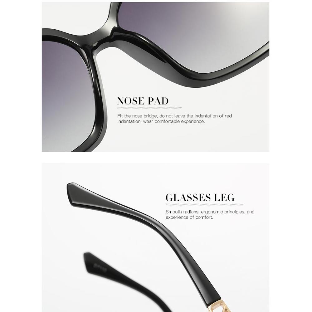 ... Kacamata Wanita Korean Sunglasses Polarized Anti UV - Brown - 3 ... 1d86b3132a