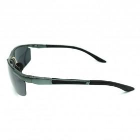 Kacamata Sporty Night Vision - Gun Black - 2