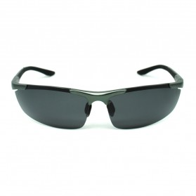 Kacamata Sporty Night Vision - Gun Black - 3