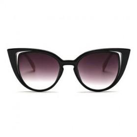 Kacamata Wanita Fashionable Cateye Sunglasses Anti UV - Blue - 3