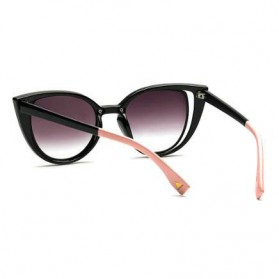 Kacamata Wanita Fashionable Cateye Sunglasses Anti UV - Blue - 4