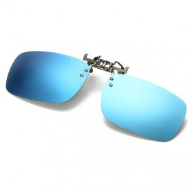 Ralferty Lensa Clip-on Kacamata Sunglasses Polarized - 18X7-005 - Blue