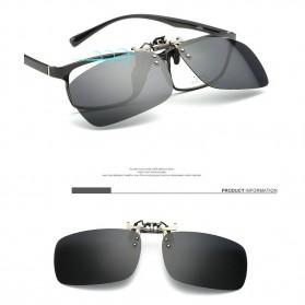 Ralferty Lensa Clip-on Kacamata Sunglasses Polarized - 18X7-005 - Blue - 2