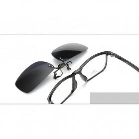 Ralferty Lensa Clip-on Kacamata Sunglasses Polarized - 18X7-005 - Blue - 3