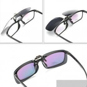 Ralferty Lensa Clip-on Kacamata Sunglasses Polarized - 18X7-005 - Blue - 4