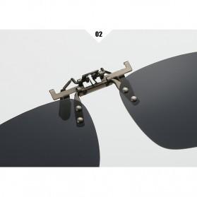 Ralferty Lensa Clip-on Kacamata Sunglasses Polarized - 18X7-005 - Blue - 6