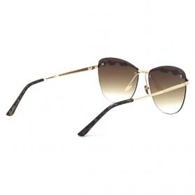 Kacamata Wanita Olive Branch Sunglasses Anti UV - Gray - 2