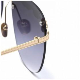 Kacamata Wanita Olive Branch Sunglasses Anti UV - Gray - 5