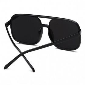 Kacamata Wanita Square Vintage Retro - Black/Pink - 2