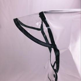 Jas Hujan Anak EVA Raincoat Size XL - White - 4