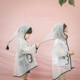 Jas Hujan Anak EVA Raincoat Size XXL - White
