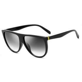 Kacamata Sunglasses Wanita Big Frame - Black
