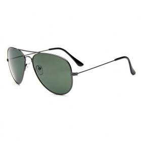 Kacamata Polarized Aviator Sunglasses - 3025 - Green