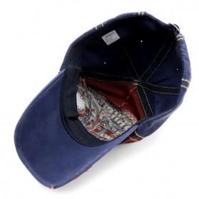 Jamont Topi Baseball Cap Snapback Motif Bordir Shark - G13948 - Blue - 3