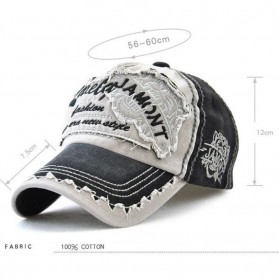 Jamont Topi Baseball Cap Snapback Motif Bordir - G12970 - Blue - 3