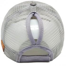 Topi Baseball Glitter Ponytail Cap - BQ126 - Black - 7