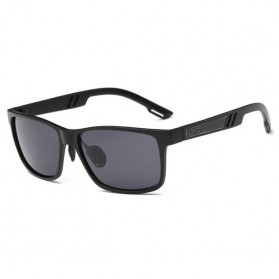 Kacamata Hitam Pria Magnesium Polarized Sunglasses - A6560 - Black