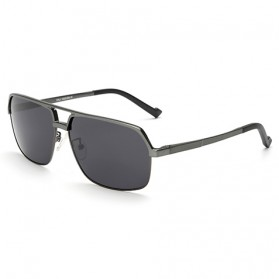 YOOSKE Kacamata Hitam Pria Magnesium Polarized Sunglasses - 8549 - Black