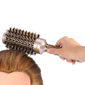 Sisir Rambut Roller Brush Hairstyling High Temperature Ionic Ceramic 45mm - LT-2001 - Golden - 6
